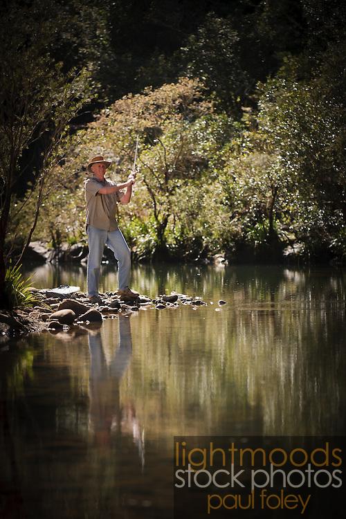 Fly Fishing, Barrington Tops, NSW, Australia