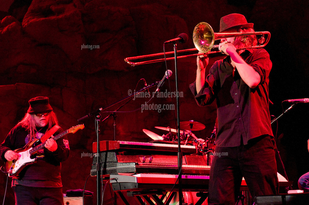Matt Hubard on Trumpet, Papa Mali on Guitar. 7 Walkers in Concert in The Wolfs Den at Mohegan Sun Casino on December 9, 2010