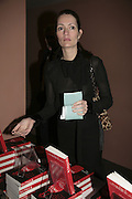 Plum Sykes,  Book launch for ' What Did I Do last night' by Tom Sykes. Century Club. Shaftesbury Ave. London. 16 January 2006. -DO NOT ARCHIVE-© Copyright Photograph by Dafydd Jones. 248 Clapham Rd. London SW9 0PZ. Tel 0207 820 0771. www.dafjones.com.