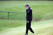 Cardiff city manager Ole Gunnar Solskjaer at Cardiff city team training at the Vale, Hensol, near Cardiff on  Friday 10th Jan 2014.<br /> pic by Andrew Orchard, Andrew Orchard sports photography.