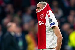08-05-2019 NED: Semi Final Champions League AFC Ajax - Tottenham Hotspur, Amsterdam<br /> After a dramatic ending, Ajax has not been able to reach the final of the Champions League. In the final second Tottenham Hotspur scored 3-2 / Hakim Ziyech #22 of Ajax