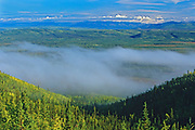 Tintina Trench <br />Tintina Trench in valley along the North Klondike Highway<br />Yukon<br />Canada