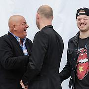 NLD/Haarlem/20120627 - Filmpremiere Ice Age 4, Jack van Gelder en Eddy Zoey, Gers Pardoel
