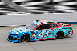 October 5, 2018 - Dover, DE, U.S. - DOVER, DE - OCTOBER 05: Bubba Wallace driver of the #43 World Wide Technology Chevrolet takes a lap during Friday's practice for the Monster Energy NASCAR Cup Series Gander Outdoors 400 on October 05, 2018, at Dover International Speedway in Dover, DE. (Photo by David Hahn/Icon Sportswire) (Credit Image: © David Hahn/Icon SMI via ZUMA Press)