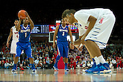 DALLAS, TX - FEBRUARY 01: Joe Jackson #1 of the Memphis Tigers shoots a free-throw against the SMU Mustangs on February 1, 2014 at Moody Coliseum in Dallas, Texas.  (Photo by Cooper Neill/Getty Images) *** Local Caption *** Joe Jackson