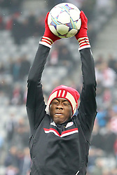 02.11.2011, Allianz Arena, Muenchen, GER, UEFA CL, FC Bayern Muenchen vs. SSC Neapel, im Bild David Alaba (Bayern #27)  // during the CL match  FC Bayern Muenchen (GER)  vs.  SSC Neapel  (ITA) Gruppe A, on 2011/11/02, Allianz Arena, Munich, Germany, EXPA Pictures © 2011, PhotoCredit: EXPA/ nph/  Straubmeier       ****** out of GER / CRO  / BEL ******