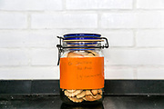 """(grandma cookies, coronavirus Free)<br /> Sense of humor written in a jar of butter cookies offered by grandparents.<br /> <br /> Our Day 0, started on March 12th. The decision that we consider irreversible, was taken at dinner time the previous day. Our time has come to close doors and dive into the uncertain. A virus on the streets and four people closed at home make us live a kind of """"Big Brother"""" without cameras, in a narrative that nobody wants to be in. This is our story. One in tens, hundreds, thousands. In the country. In the world.<br /> <br /> The state of emergency decreed by other countries, which reach us via TV, are those that only happen to others. They are far away. They belong to others. Ours was decreed on the 18th. Without realizing how, the house became a temporary prison and freedom is lost by a crime that we did not commit. Until when?<br /> <br /> The disease that haunts the world - is the title of the """"book"""" that Maria, our eldest daughter, decided to write to address the issue. For Carminho, the youngest, the method is different. Many music and cartoons are the chosen evasions to get by, and as they say on these sides; lots of music and cartoons a day, works wonders for you.<br /> These are the contrasts, the new routines, the duties and the pleasures of these strange quarantine moments, never before experienced, which I intend to record. Until then, I hope to survive the women in my house - And that they, bear with me too."""