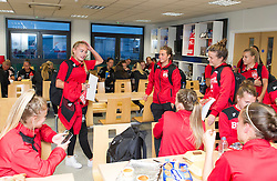 Bristol City Women say goodbye to Charlie Estcourt who returns to Reading FC following a period on loan - Mandatory by-line: Paul Knight/JMP - 24/09/2016 - FOOTBALL - Stoke Gifford Stadium - Bristol, England - Bristol City Women v Durham Ladies - FA Women's Super League 2