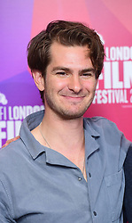 Andrew Garfield attending the Benjamin Premiere as part of the BFI London Film Festival at BFI in London.