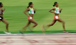 30-08-2015 CHN: IAAF World Championships Athletics day 9, Beijing<br /> 500 meter final - Gold Almaz AYANA ETH en Senbere TEFERI ETH<br /> Photo by Ronald Hoogendoorn / Sportida