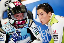 01.05.2010, Motomondiale, Jerez de la Frontera, ESP, MotoGP, Race, im Bild Pol and Alex Espargar. EXPA Pictures © 2010, PhotoCredit: EXPA/ InsideFoto / SPORTIDA PHOTO AGENCY