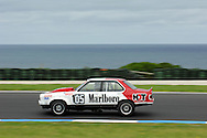 Chiomi Gendre - Group C - Torana A9X.Historic Motorsport Racing - Phillip Island Classic.18th March 2011.Phillip Island Racetrack, Phillip Island, Victoria.(C) Joel Strickland Photographics.Use information: This image is intended for Editorial use only (e.g. news or commentary, print or electronic). Any commercial or promotional use requires additional clearance.