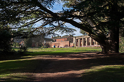 Canon Hall Barnsley<br /> 1 February 2015<br /> Image © Paul David Drabble <br /> www.pauldaviddrabble.co.uk Cannon Hall Fairyland Gardens are a landscaped Fairytale folly for children.  It was laid out in the late 19th Century by Sir Walter Spencer-Stanhope who used stone arches form the Churches at Cawthorne and Silkstone along with winding paths, ponds, Yew trees and a stone bridge crossing a stream to creating a magical fairy garden unlike the formal gardens usually found at UK stately homes.