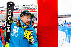 February 9, 2019 - Re, SWEDEN - 190209 Kjetil Jansrud of Norway celebrates after the  men's downhill during the FIS Alpine World Ski Championships on February 9, 2019 in re..Photo: Joel Marklund / BILDBYRN / kod JM / 87853 (Credit Image: © Joel Marklund/Bildbyran via ZUMA Press)