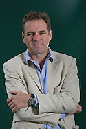 Acclaimed Scottish historian, writer and television personality, Niall Ferguson, pictured at the Edinburgh International Book Festival where he talked about his latest book entitled 'Civilisation'. The three-week event is the world's biggest literary festival and is held during the annual Edinburgh Festival. The 2011 event featured talks and presentations by more than 500 authors from around the world..