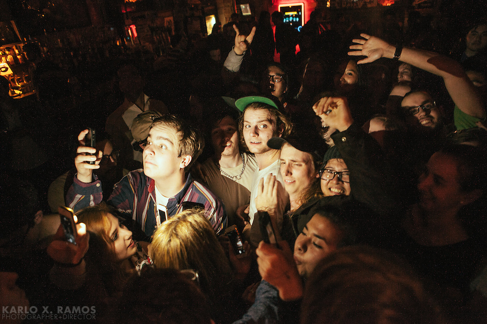 Mac deMarco performing at Lola's Saloon Fort Worth, TX