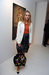 DAISY DE VILLENEUVE at an exhibition of paintings by artist Rene Richard at the Scream Gallery, Bruton Street, London on 3rd April 2008.<br /><br />NON EXCLUSIVE - WORLD RIGHTS