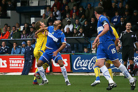 Matty McNeil. Stockport County FC 1-2 Colchester United FC. Coca-Cola League 1. 18.8.08