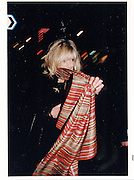 Marianne Faithful, Cafe de Paris. Leicester Sq. London. 1997 approx. © Copyright Photograph by Dafydd Jones 66 Stockwell Park Rd. London SW9 0DA Tel 020 7733 0108 www.dafjones.com