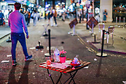"General view of people enjoying a late night out in Soho, in London's West End on Sunday, Sept 13, 2020. The public has been urged to act ""in tune"" with Covid-19 guidelines before the ""rule of six"" restrictions come into force on Monday. The British government's scientific advisory board announced on Friday that the reproduction number of coronavirus transmission across the UK was now over 1.0. The Science and the Scientific Advisory Group for Emergencies (SAGE) said the R-value was now between 1.0 and 1.2. (VXP Photo/ Vudi Xhymshiti)"