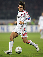 "Andrea Pirlo (Milan)<br /> Italian ""Serie A"" 2006-07<br /> 16 Dic 2006 (Match Day 16)<br /> Fiorentina-Milan (2-2)<br /> ""Artemio Franchi"" Stadium-Firenze-Italy<br /> Photographer Luca Pagliaricci INSIDE"