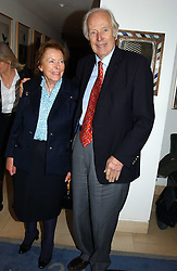 SIR GEORGE & LADY MARTIN at a party to celebrate a book of work by artist Jack Vettriano held at The Bluebird Club & Dining Room, 350 Kings Road, London on 7th December 2004.<br /><br />NON EXCLUSIVE - WORLD RIGHTS