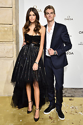 Kaia and Presley Gerber attending Her Time Omega photocall as part of the Paris Fashion Week Womenswear Spring/Summer 2018 on September 29, 2017 in Paris, France. Photo by Alban Wyters/ABACAPRESS.COM