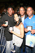 """Winners of The Enterprise IPOD giveaway at the Hip-Hop Summit's """"Get Your Money Right"""" Financial Empowerment International Tour draws hip-hop stars and financial experts to teach young people about financial literacy held at The Johnson C. Smith University's Brayboy Gymnasium on April 26, 2008..For the past three years, hip-hop stars have come out around the country to give back to their communities. Sharing personal stories about the mistakes they've made with their own finances along the way, and emphasizing the difference between the bling fantasy of videos and the realities of life, has helped young people learn the importance of financial responsibility while they're still young. With the recent housing market crash in the United States affecting the economy, jobs, student loans and consumer confidence, young people are eager to receive sound financial advice on how to best manage their money and navigate through this volatile economic environment.."""