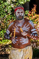 An aboriginal man, Circular Quay, Sydney, New South Wales, Australia