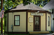 Liberty Maine Post Office, the only Octaganal Post Office in the US, now on the historic register.