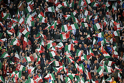 May 19, 2019 - Turin, Turin, Italy - Juventus FC fans show their support during the serie A match between Juventus FC and Atalanta BC at Allianz Stadium on May 19, 2019 in Turin, Italy. (Credit Image: © Giuseppe Cottini/NurPhoto via ZUMA Press)
