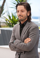 Actor Diego Luna at the Blood Father film photo call at the 69th Cannes Film Festival Saturday 21st May 2016, Cannes, France. Photography: Doreen Kennedy