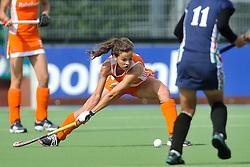 08-06-2011 HOCKEY: NEDERLAND - AZERBEIDZJAN: UTRECHT<br />Renske Siersema<br />©2011-FotoHoogendoorn.nl