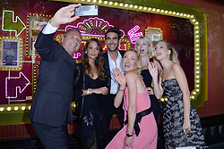 Jean-Christophe Babin, Jon Kortajarena, Alicia Vikander, Caroline Vreeland and Lottie Moss attending a ribbon cutting ceremony of a Bulgari pop-up store at the Galleries Lafayette department store as part of 2017/18 Fall Winter Haute Couture Fashionweek in Paris, France on July 04, 2017. Photo by Aurore Marechal/ABACAPRESS.COM