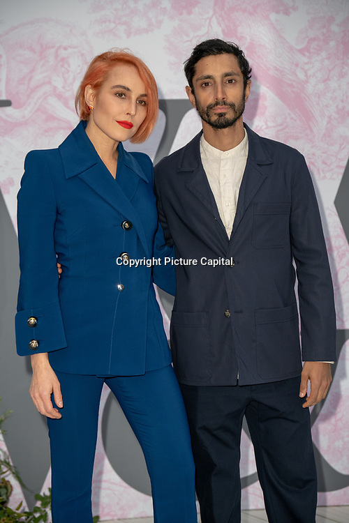 Noomi Rapace and Riz Ahmed arrives at V&A - summer party, on 19 June 2019, London, UK