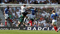 Photo: Steve Bond. <br />Derby County v Portsmouth. Barclays Premiership. 11/08/2007. Steve Howard goes close