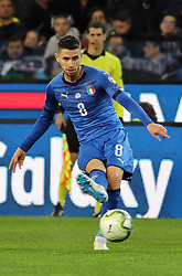 "March 23, 2019 - Udine, Italia - Foto LaPresse/Andrea Bressanutti.23/03/2019 Udine (Italia).Sport Calcio.Italia vs. Finlandia - European Qualifiers - Stadio ""Dacia Arena"".Nella foto: jorginho..Photo LaPresse/Andrea Bressanutti.March  23, 2019 Udine (Italy).Sport Soccer.Italy vs Finland - European Qualifiers  - ""Dacia Arena"" Stadium .In the pic: jorginho (Credit Image: © Andrea Bressanutti/Lapresse via ZUMA Press)"