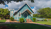 Kalaiakamanu Hou Congregational Church, 1820, Molokai, Hawaii
