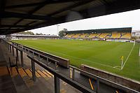Plainmoor. Torquay United FC 1-0 Stockport County FC. Vanarama National League. 3.10.20