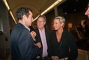 SEBASTIAN SCOTT; ROBERT FOX; FIONA GOLFAR, Masterpiece Midsummer Party in aid of CLIC Sargent. Masterpiece London. The Royal Hospital, Royal Hospital Road, London, SW3. 3 July 2012.