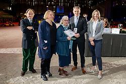 Crum family, NED, breeders of Verdades, Xavier Libbrecht, Pedersen Jan, Brandtner Nadine<br /> CHI Genève 2018<br /> © Hippo Foto - Dirk Caremans<br /> 08/12/2018