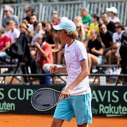 20210918: SLO, Tennis - Davis Cup, World Group II, Slovenia vs Paraguay