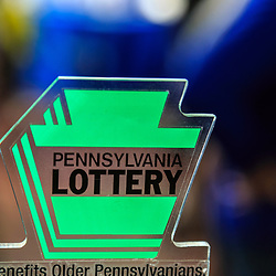 Harrosburg, PA, USA - January 11. 2015: Pennsylvania Lottery Logo