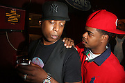 l to r:  DJ Hi-Tek and Talib Kweli are Reflection Eternal at The Rock The Bells Presents Reflection Eternal held at  BB KIngs on August 28, 2009 in New York City