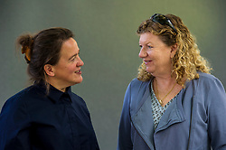 Pictured: Tania Kovats and Jo Ruxton<br /> <br /> Born in London in 1966, Tania Kovats studied at Newcastle Polytechnic before completing her MA at the Royal College of Art, London in 1990. Following this, she exhibited at the Barclays Young Contemporaries at the Serpentine Gallery in 1991. Tania Kovats currently lives and works in London.<br /> <br /> <br /> Jo Ruxton joined the BBC Natural History Unit in 1997 after working for the World Wildlife Fund in Asia for 7 years and was part of the celebrated The Blue Planet team. Over the past 18 years she has been involved in numerous underwater filming projects around the world, from Antarctica to the pristine reefs of the Caribbean and the Pacific Ocean.