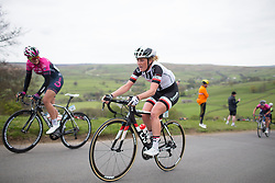 Floortje Mackaaij (NED) of Team Sunweb climbs up the Cote de Lofthouse during the Tour de Yorkshire - a 122.5 km road race, between Tadcaster and Harrogate on April 29, 2017, in Yorkshire, United Kingdom.