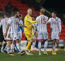 Sub keeper Ross County's Aaron McCarey at t he end. St Johnstone 2 v 4 Ross County. SPFL Ladbrokes Premiership game played 19/11/2016 at St Johnstone's home ground, McDiarmid Park.
