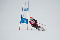 St Paul's School alpine skiing at Loon.  ©2018 Karen Bobotas Photographer