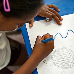 Sensibilização ambiental na escola de Itaúnas.