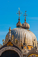 Basilica San Marco (St. Mark's Basilica), Piazza San Marco, Venice, Italy.